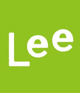 Leeこどもロゴ黄緑
